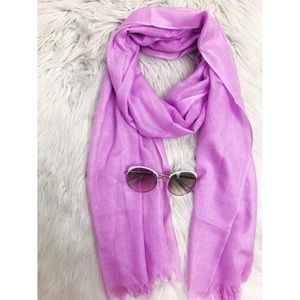 Zara Lavender Light Scarf